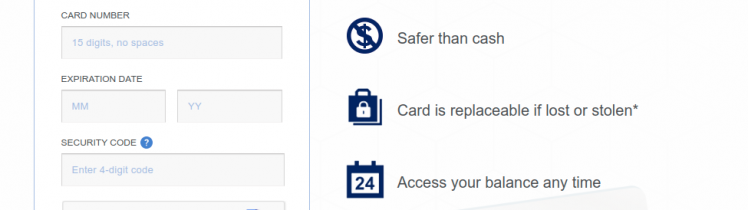 American Express Reward Card Activate