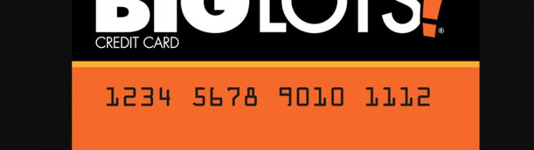 Big Lots Credit Card Logo