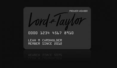 Lord Taylor Credit Card Logo