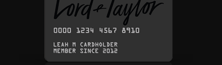 Lord Taylor Credit Card Logo