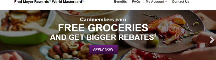 login to your Fred Meyer Rewards World MasterCard Account