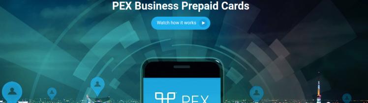pex prepaid card logo