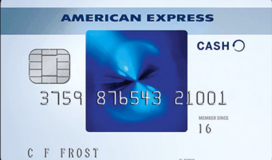 Amex Blue Cash Credit Card Logo