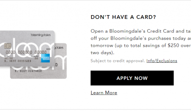 Bloomingdale's Credit Card Logo