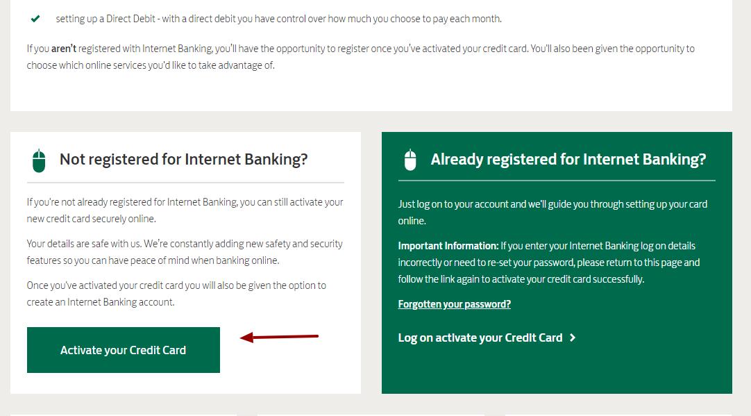Lloyds Bank Credit Card Actibvate