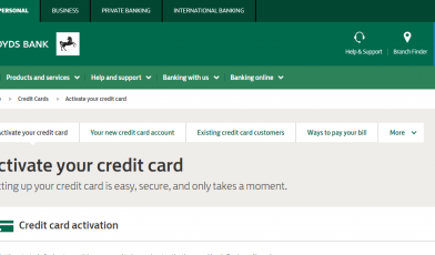 Lloyds Bank Credit Card Logo
