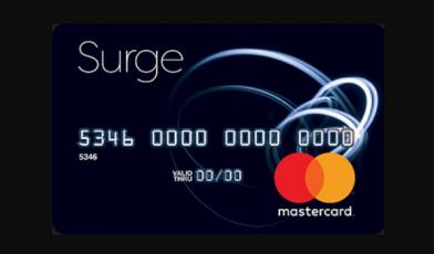 Surge MasterCard Credit Card Logo