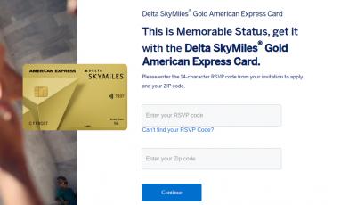 Amex Delta SkyMiles Gold Card Apply