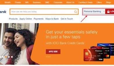ICICI-Bank credit card active