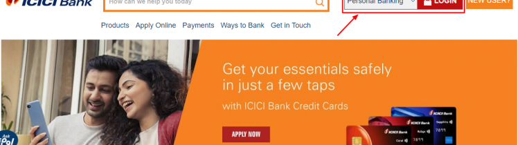 ICICI-Bank credit card active