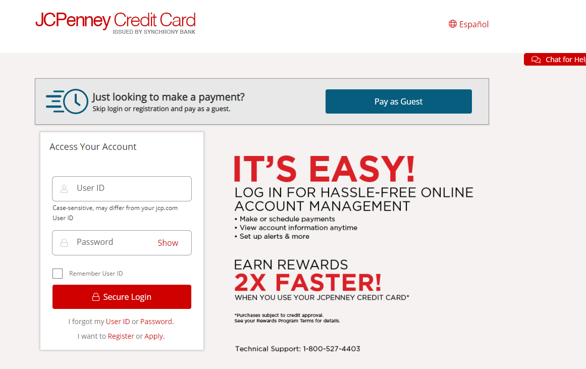 JCPenney Card Activate Method