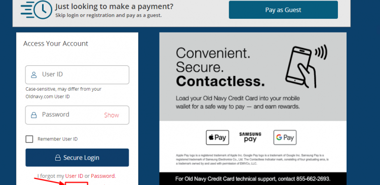 Old Navy Card Activate-Step By Step