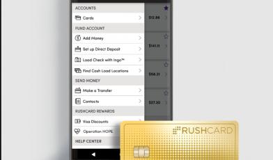 rushcard logo