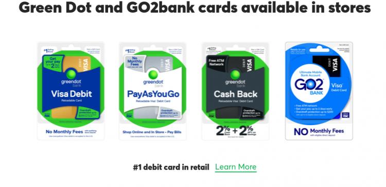 greendot debit card
